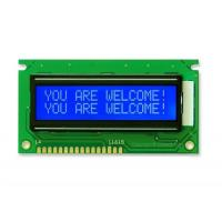 Transmissive Gray Mode STN LCD Display 16 X 2 Lcd Monitor Module With 1 / 16 Duty