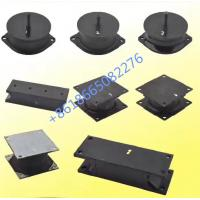 Quality Wheel Loader Anti - vibration Pad Rubber Engine Mounts / Excavator Spare Parts for sale