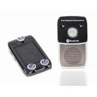 China Bluetooth speakerphone hands free car kit with solar power on sale