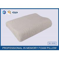 Quality Comfort Waved shapded Memory Foam Contoured Pillow , Classic Memory Foam Pillow for sale