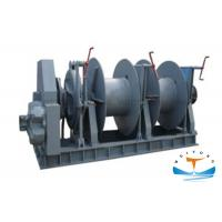 Quality Hydrodynamic Vertical Anchor Windlass 11 Kw Motor Power Easy Operation for sale