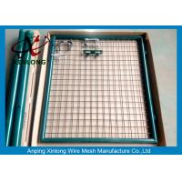 Quality Hot Dipped Welded Fence Gate With Stainless Steel Lock OEM Acceptable for sale