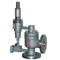 Quality Non-Flowing Special Steel Pilot Operated Safety Valve / Gas Safety Valve for sale