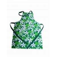Green Twill Weave Fabric Personalized Cooking Aprons Fashionable Aprons