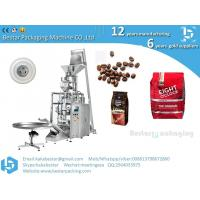 Quality Fastener bag filling bag sealing bag automatic packaging machine price for grain coffee beans for sale