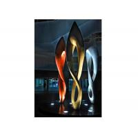 Quality Painted Number Eight Stainless Steel Sculpture for Modern Outdoor Decoration for sale
