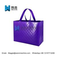 Quality Glossy  laminated non woven embossed eco-friendly shopping bag for sale