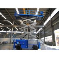 Quality 16m Mobile Self Propelled Scissor Lift Two Man Engine Powered For Tight Spaces for sale