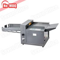 China NO MOQ metal construction digital electric file paper creasing machine china manufacturer on sale