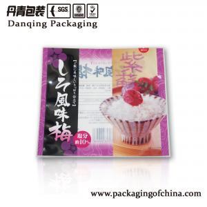 Quality Flour 3 sides seal bag flexible plastic pouch sachet Customized for sale