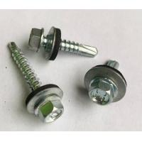 Quality Hex Head Self Drilling Concrete Screws With Washer DIN7504 ASME B18.6.3 for sale
