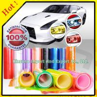 Quality Smoke Vinyl Headlight Tint Films for sale