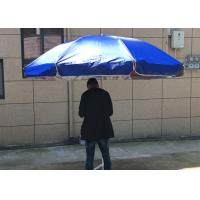 Quality Silver Coated Garden Sunshades Parasols UV Resistant For Business Promotion for sale