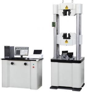 China WAW-1000D Series Servo Hydraulic Testing Machine 1/300000 Load Resolution on sale