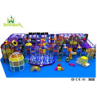Pre - School Play And Party Indoor Playground , Indoor Bouncing Playgrounds for sale