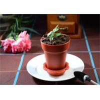 Buy cheap Heat Resistant Disposable Cake Flowerpot PP Plastic Mousse Cups 100ml from Wholesalers