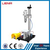 Quality pneumatic crimping machine for glass perfume bottle for sale