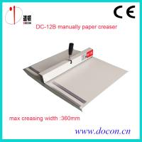 Quality DC-12B paper creasing machine for sale