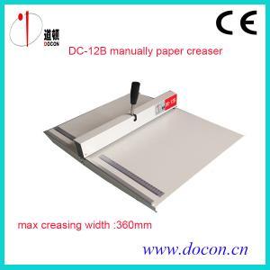 China DC-12B paper creasing machine on sale