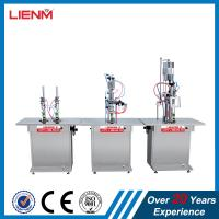 Quality 3 in 1 Aerosol Paint Spray Can Filling Machine for sale