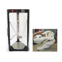 Buy cheap Black Stable Molding Delta 3D Printer Three - Axis Linkage Near Distance from wholesalers