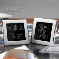 Quality Touch doorbell controller(don't disturb, pls wait, make up clean) for sale