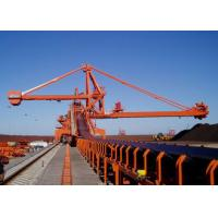 Buy cheap Mobile Rubber Tyred Port Gantry Crane , Continuous Ship Unloader Rail Mounted Crane from wholesalers