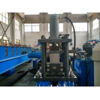 Quality Blue Color Automatic 13Station C Channel Steel Roll Forming Machine 12m / min Custom for sale