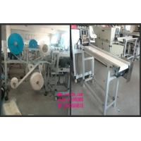Quality 3 Layers Body Surgical Mask Making Machine 5KW With Touch Screen Semi Automatic for sale