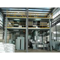 Quality Automatic pp spunbond non woven fabric making machine high output and low power consumption for sale