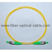 China FC/APC Simplex SM Optical Fiber Patch Cord on sale
