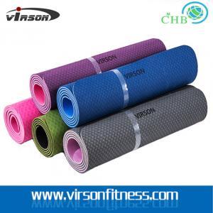 Quality Ningbo Virson hot sales TPE yoga mat.ECO friendly gym mat for sale