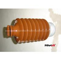IEC Standard Caped Line Post Insulator 35KV With Metal Base / Tie Top
