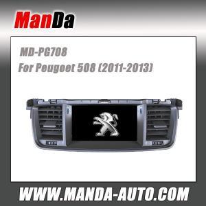 Quality Manda factory gps car sat nav for Peugoet 508 ( 2011-2013 ) car navigation system satellite radio for sale