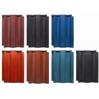 Clay Glazed Roof Tiles Rainproof Wear - Resistant For School / Residential Roof