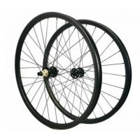 Buy cheap 22mm Tubeless Carbon Mountain Bike Wheels 29 Inch MTB / Road Supply Long from wholesalers