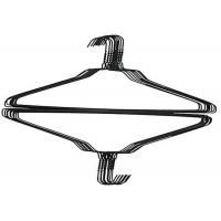 Quality Hot Dipped Galvanized Wire Clothes Hangers / Dry Cleaner Hangers for sale