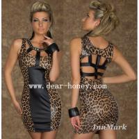 China Leopard Dress Clubwear Party Dresses MX-2427 on sale