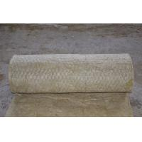 Quality Fireproof Rockwool Insulation Blanket With Wire Mesh Custom for sale