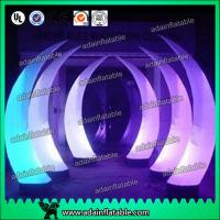 Quality Event Decoration Lighting Inflatable Tusk Tube Pillar Entrance for sale