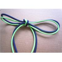 Quality Elastic Polished Cotton Cord Rope , Cotton Braided Cord Eco Friendly for sale