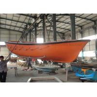 Quality 15-72 Person Lifeboat Rescue Boat Open Type Simple Structure With Yanmar Engine for sale