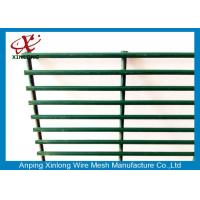 Quality Dark Green Custom Security Fence , Residential Security Fencing Eco Friendly for sale