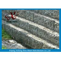 Quality Galvanized Galfan Hexagonal gabion box Reinforcing the Rive Bank for sale