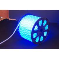 Quality Super Bright 220V AC RGB Color Changing Led Rope Light 2.5W / Meter For Walkways for sale