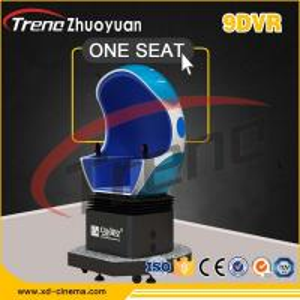 Buy cheap 22 PCS VR Racing Car 9D VR Cinema Triple Chair 220 Volt 5500 Watt For Kid / Adult from Wholesalers