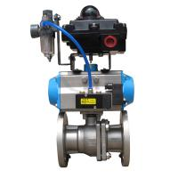 Quality Pneumatic thin type Ball Valve for sale