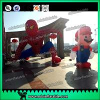 Quality Custom Inflatable Spider Man Event Inflatable Spiderman Model Mario Cartoon for sale