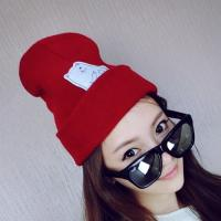 Quality Top Quality Custom Slouchy Knitted Beanie Hat Wholesale for sale