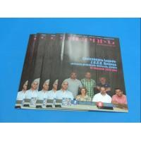 Fashion 157gsm art Magazine Printing Services A4 B5 Slivery Hot Stamping